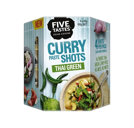 Shots For Thailand >> Green Curry Paste Shot