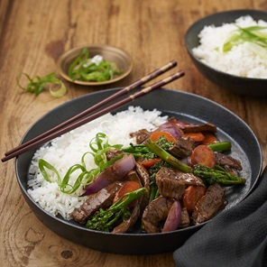 Chinese Beef Hoisin  Garlic Stir Fry
