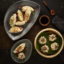 Chinese Hoisin Duck Dumplings
