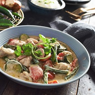 Classic Thai Green Chicken Curry For Two