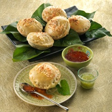 Green Curry Chicken Pies