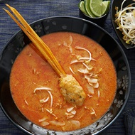 Lemongrass Spiked Chicken Laksa