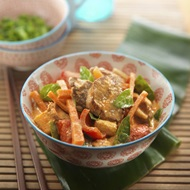 Pork  Sweet Basil Curry