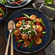 Prawn Lemongrass and Kaffir Lime Stir Fry