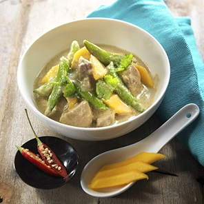 Sugar Snap Peas  Mango Curry