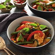 Thai Basil  Chilli Stir Fry