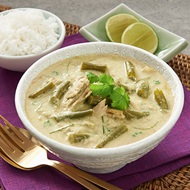 Thai Green Tuna And Bean Curry