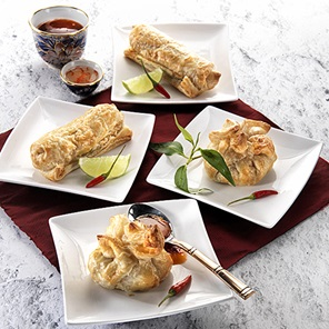 Thai Vegetable Curry Puffs