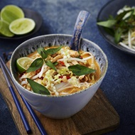 Coconut Chicken And Noodle Laksa