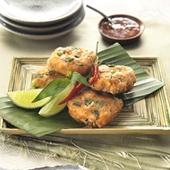 Thai Fish  Prawn Cakes